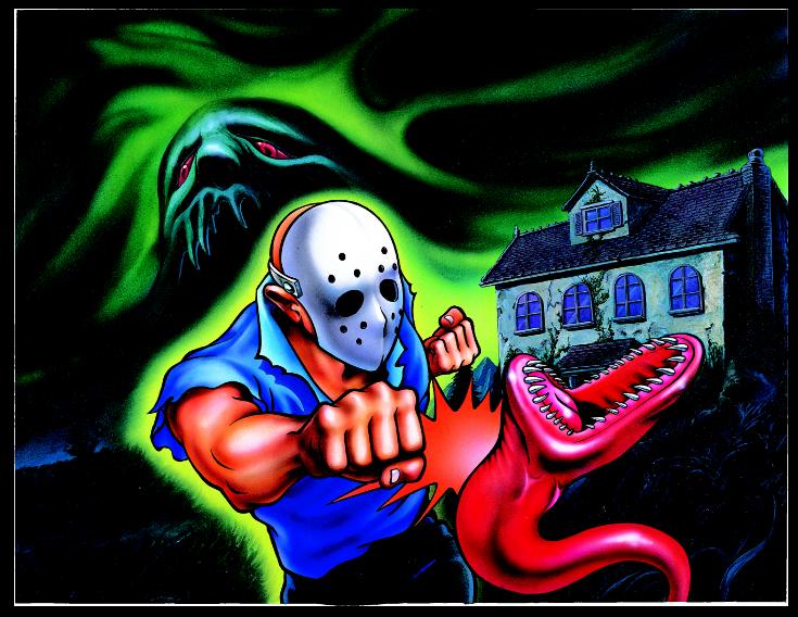West Mansion: The Splatterhouse Homepage - Artwork